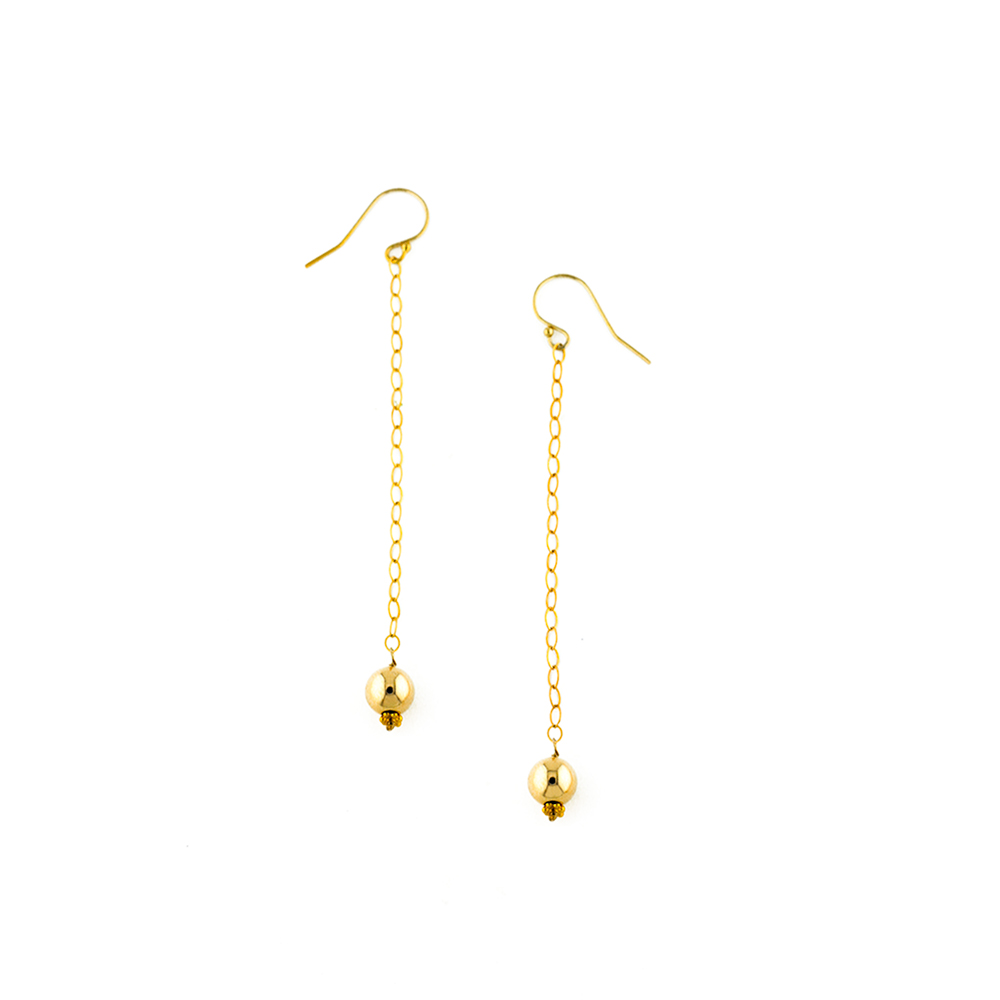 supply il earrings chain hook findings from gold pull earring listing long through goldiesupplies threader