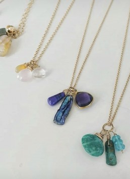 Bohemia Jewelry gemstone necklaces