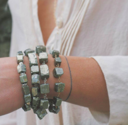 Pyrite Power Bracelet