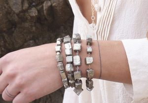 Shop Handmade Bracelets with gemstones in gold filled and sterling silver
