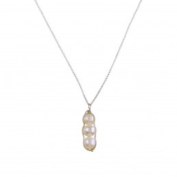 Pacific Pearl Drop Pendant Necklace