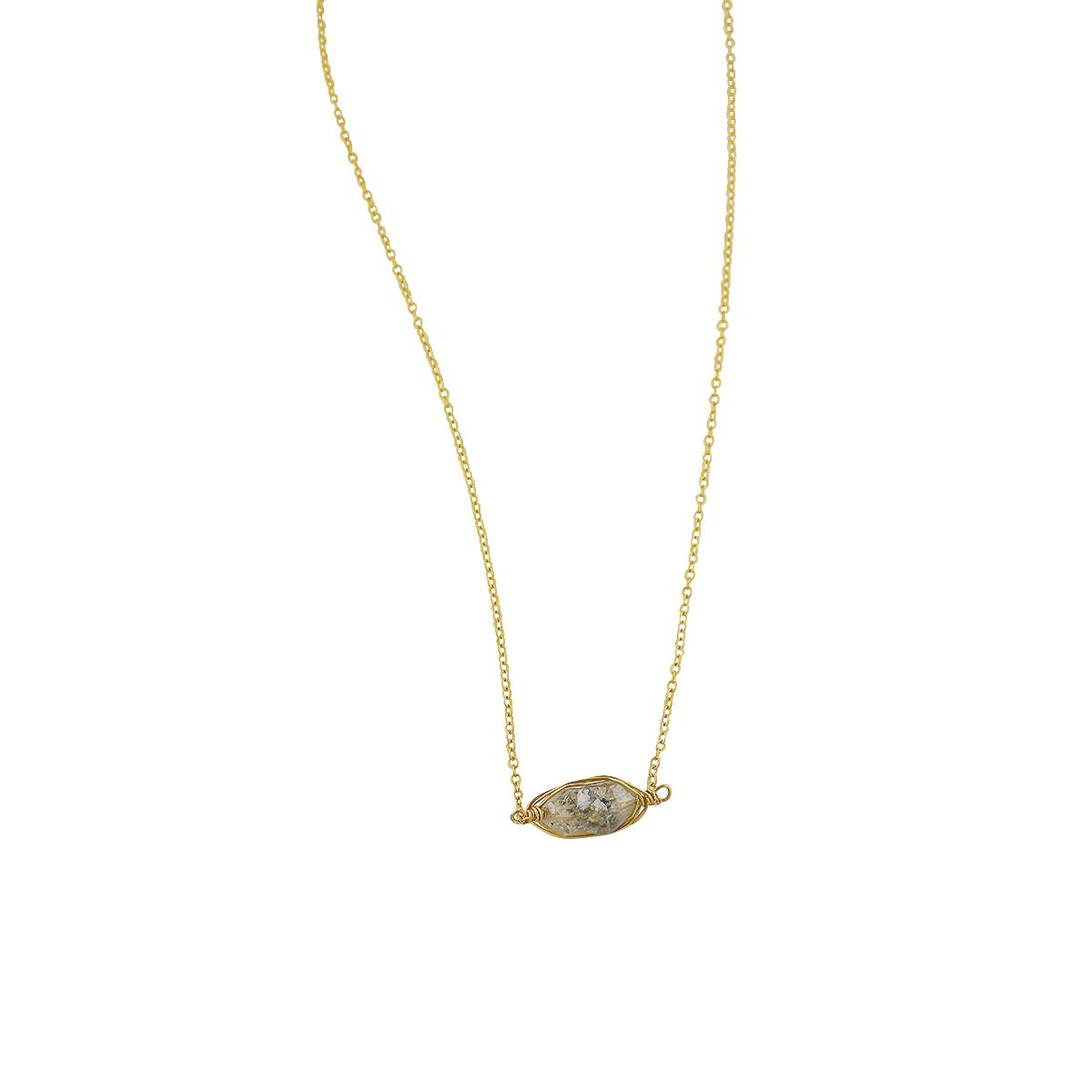 Illumine Herkimer Diamond Necklace