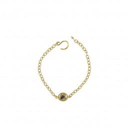 Illumine Pyrite Chain Bracelet