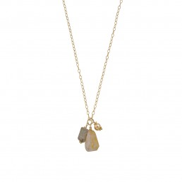 Rutilated Charm Necklace