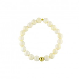Pacifica Mother of Pearl Bracelet sterling silver or gold