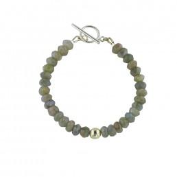 Illumine Labradorite Toggle Bracelet