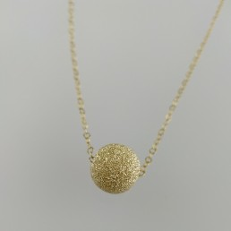Orb Sphere Ball Floating Pendant Necklace